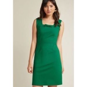 New ModCloth Green Dress